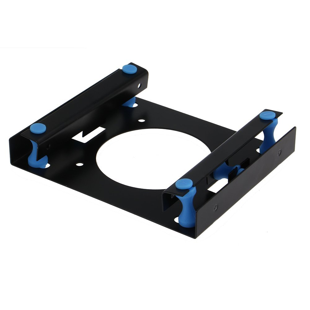 Shock-Proof 3.5 Hard Disk To 5.25 DVD ROM Bay Mounting Adapter