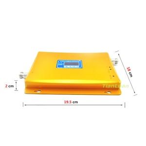 Image 5 - TianLuan GSM 900 mhz + 3 גרם W CDMA 2100 mhz Dual Band טלפון נייד אות מגבר 2 גרם 3 גרם טלפון סלולרי אות מהדר עם אספקת חשמל