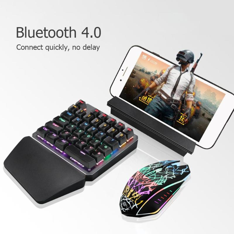 Mini Keyboard Mouse Converter Station Bluetooth Adapter Dock Gamepad for Android Mobile PUBG/ FPS Games Holder High Quality