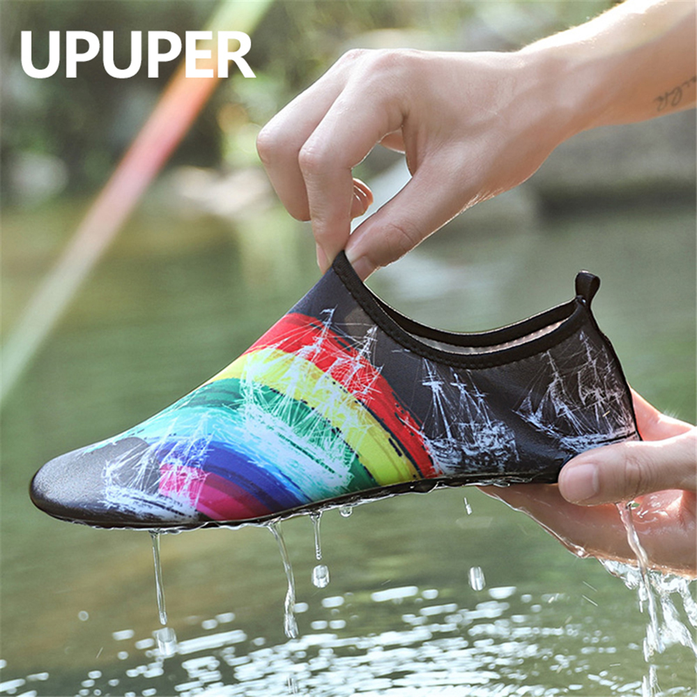 2019 Water Beach Shoes For Swimming Shoes Men Women Sneaker Summer Aqua Sea Shoes Non-Slip Yoga Swim Slippers Zapatos Hombre