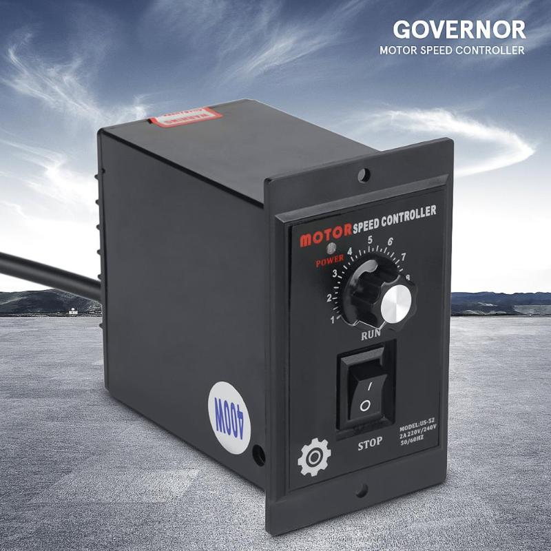 220V 400W AC Motor Speed Controller Pinpoint Regulator Controller Forward And Backward AC Motor Accessories