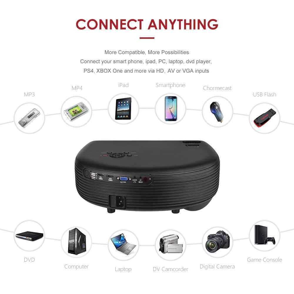 Full HD светодиодный проектор 1080P Sup порт ed 50000 часов лампы срок службы 3200 люмен с 2 * HD/2 * USB/VGA/AV/разъем для наушников