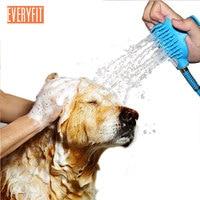Multifunctional Dog Scrubber Sprayer Pet bath nozzle Bathing Tool Comfortable Massager Shower Tool For Pet Dog Cat Bathing