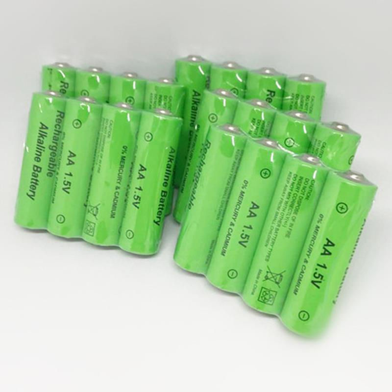 SQPP 20 Pack <font><b>Aa</b></font> <font><b>Rechargeable</b></font> <font><b>Battery</b></font> 3000Mah <font><b>1.5V</b></font> New <font><b>Alkaline</b></font> <font><b>Rechargeable</b></font> <font><b>Battery</b></font> For Led Light Toy Mp3 image