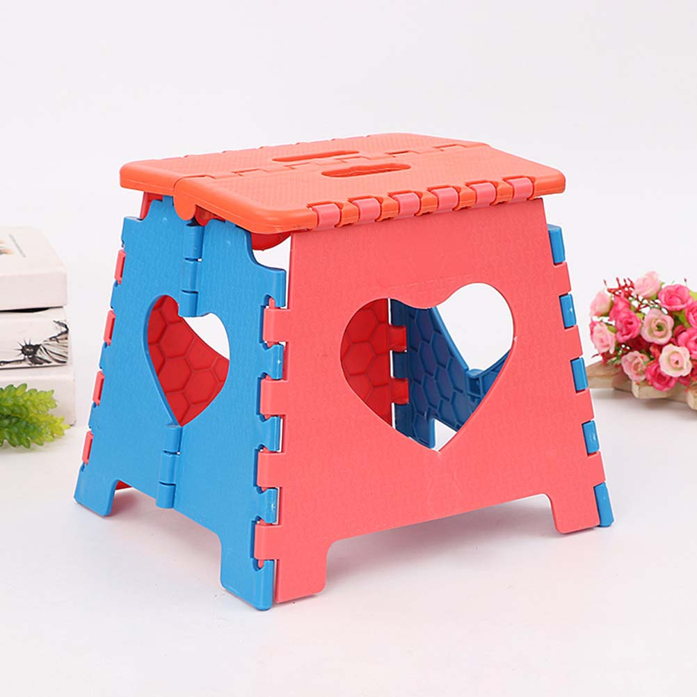 US $13.31 42% OFF|1pc Folding Step Stool Portable Plastic Small Stool Chair  Bench for Children Adults Kids Travel Kitchen Bathroom Outdoors-in Stools  ...