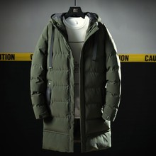 Varsanol New Men's Parkas Long Cotton Winter Jacket Coat For Men Brand Bomber Ja