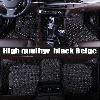 ZHAOYANHUA Custom car floor mats for Hyundai   Grand SantaFeMPV H-1 WagonGenesisCoupe        tyling carpet floor