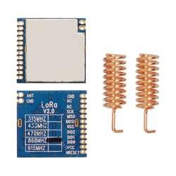 7 шт./лот FCC сертифицированы Lora1276 100 МВт SX1276 Lora модуля 915 мГц Высокая чувствительность 4 км RF передатчик с большим радиусом действия и приемник