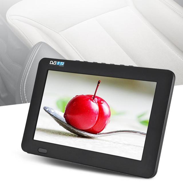 LEADSTAR 7 zoll DVB-T-T2 16:9 Tragbare TFT-LED HD Digital Analog Farbe TV Fernsehen Player UK Stecker für UK Malaysia mini tv