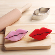 Biscuit Mould Cutters Lipstick Balloon Bakeware Cake-Tool Pastry Stainless-Steel Cartoon