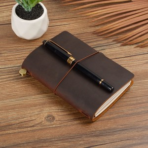Image 2 - New Arrivals Field Notes Journal Cover Genuine Leather Notebook Planner Handmade Travel Agenda Pocket Diary Vintage Stationery