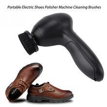 Portátil automático cepillo eléctrico de zapatos brillo máquina pulidora  cepillos de limpieza para las bolsas de cuero asiento d. 04457ff3eb20