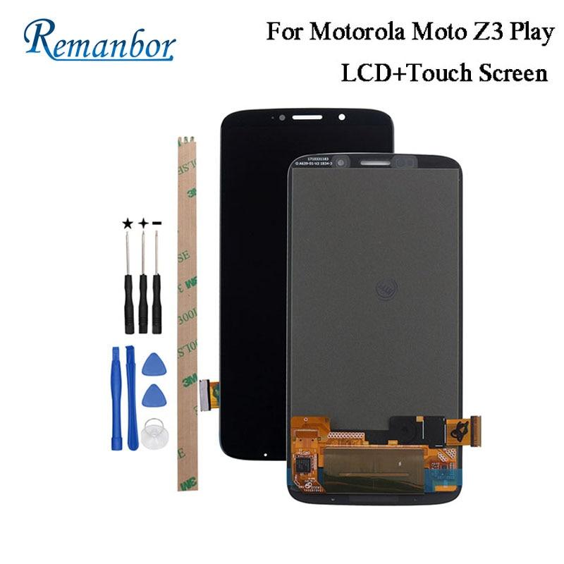 Remanbor pour Motorola Moto Z3 Play XT1929 LCD affichage et écran tactile pièces de réparation pour Moto Z3 Play accessoire numérique + outil