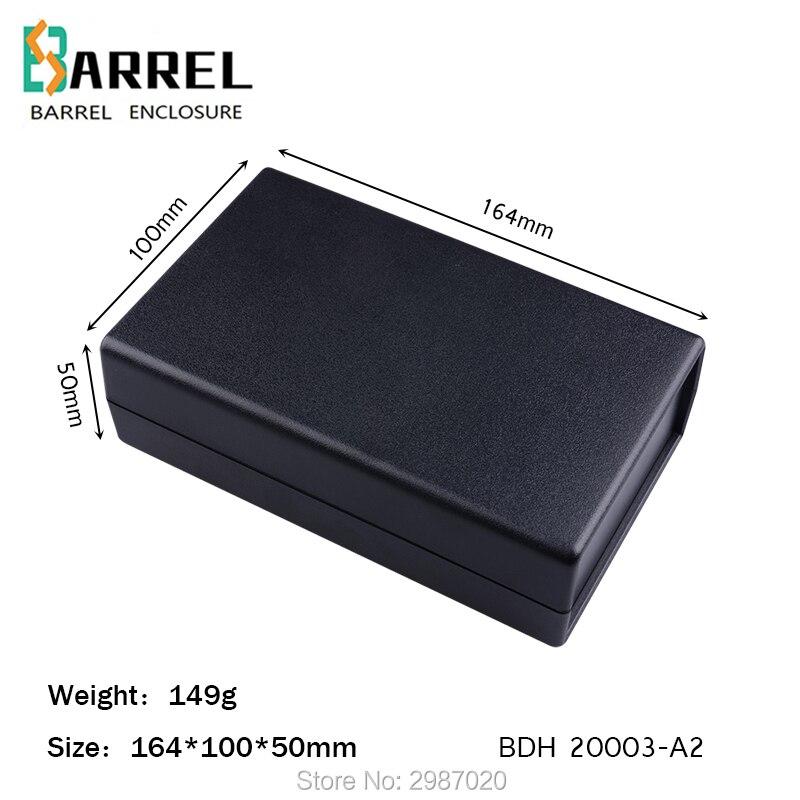Black Plastic Cover Project Electronic Instrument Case Enclosure Box SM..