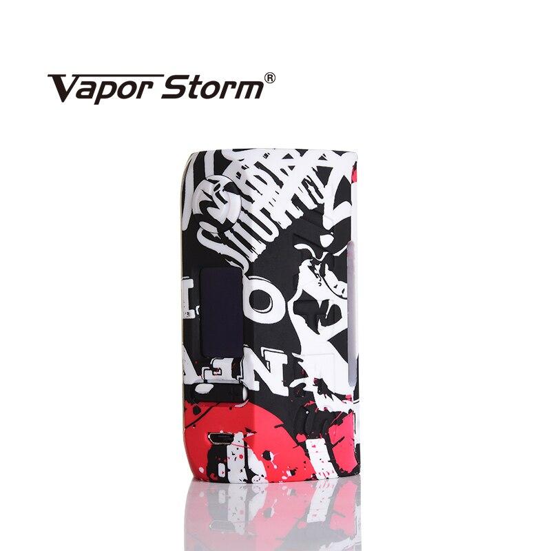 Tempête de vapeur Storm230 Puma 200 W Graffiti Vape Mod sans double batterie 18650 VW TC OLED boîte Mod dessin animé Cigarette électronique