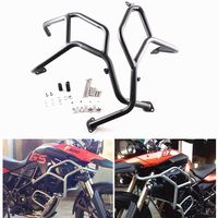 Motorcycle Upper Crash Bars Guard Protection For BMW F800GS F700GS F650GS 2008 2013 2010 2011 2012 Black