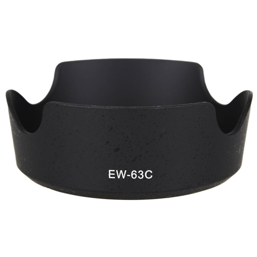 1pc Professional Camera Lens Hood Shade For <font><b>EW</b></font>-<font><b>63C</b></font> EW63C Canon EF-S 18-55mm/55-250mm STM New Camera Accessory image