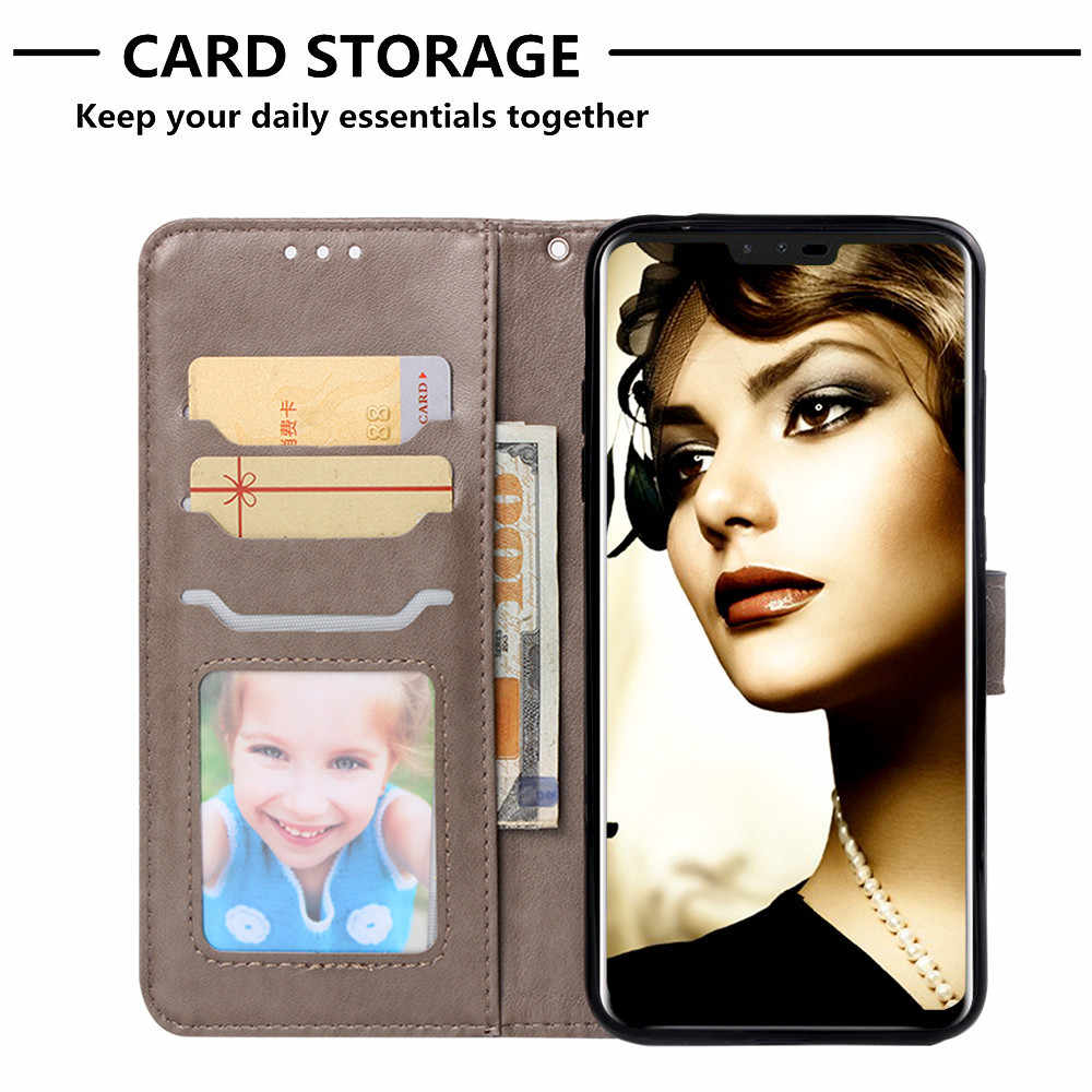 Flip Leather Book Phone Case Shell For Lg X Power3 V40 G7 Thinq Aristo 2 Plus Stylo 4 Q Stylus Fireworks Elephant Texture