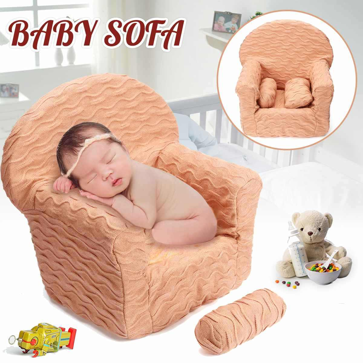 0aacdf645e494 Newborn Baby Sofa Baby Modeling Photography Props Small Sofa Chair Photo  Decor Studio Photoshoot Accessories Tool