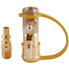 Propane Natural Gas Quick Connect Connector Anti-corrosion Valve LPG Fitting Kit