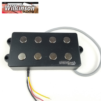 Wilkinson Lic 4 Strings electric bass Guitar Pickup for four strings BigSound Fit Musicman Bass WOM4 pickups
