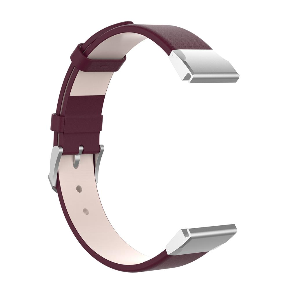 Image 5 - 22MM Wide Universal Quick Release Leather Strap For Garmin Fenix 5 For Garmin Forerunner 935 For Garmin Quatix 5 For Garmin-in Smart Accessories from Consumer Electronics