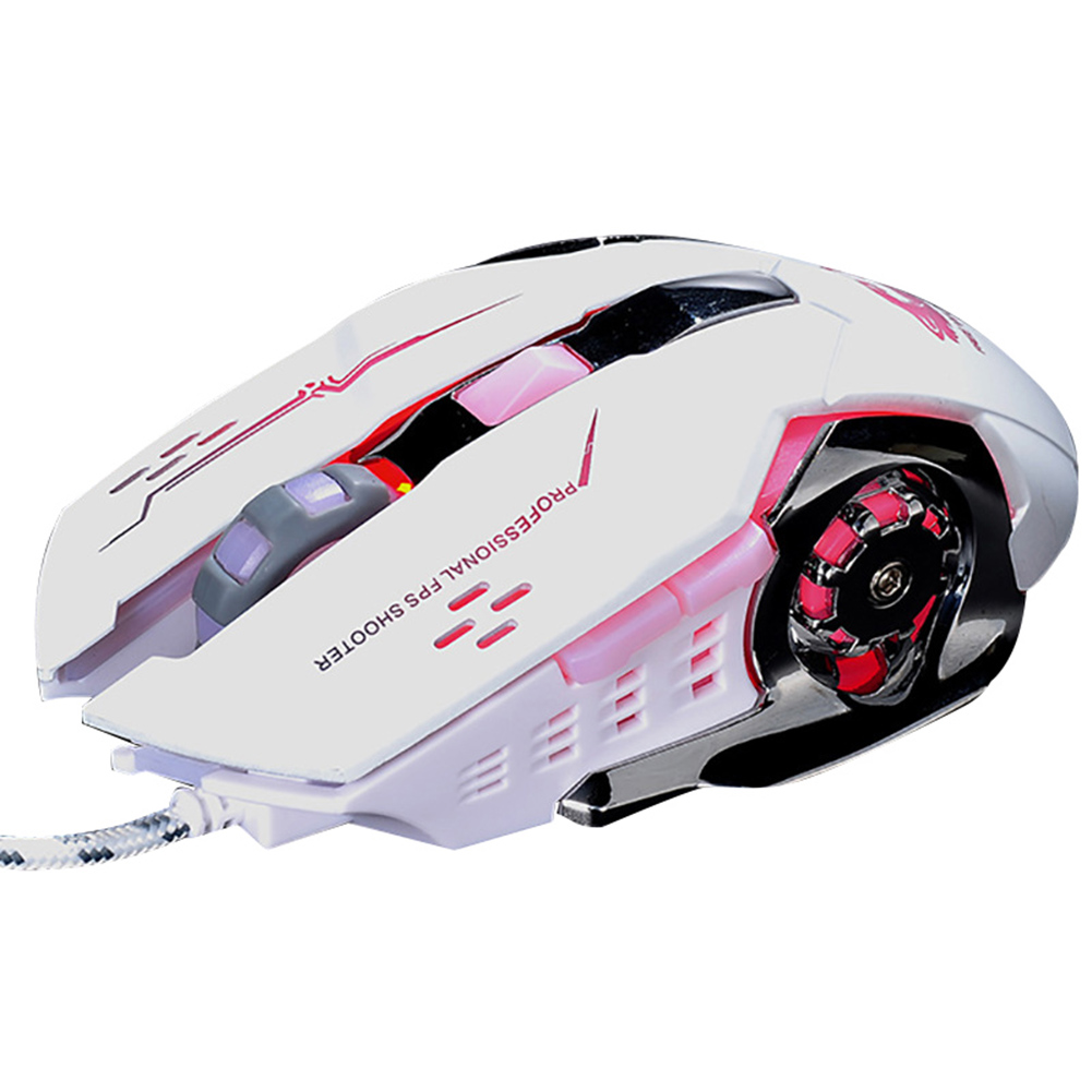 Image 2 - GUIGSI LED Light Adjustable DPI 2.4GHz 6 Buttons PC Laptop Gaming Wireless Mouse-in Mice from Computer & Office