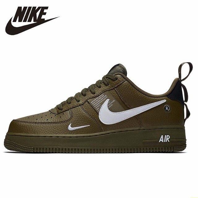 35708b4af1 Nike AIR FORCE 1 '07 LV8 UTILITÁRIO Tênis Dos Homens Sapatos de Skate Nova  Chegada