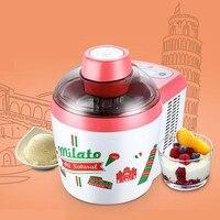 Household ice cream Machine 600ml DIY Automatic Frozen Fruit Ice cream Maker jelly milkshake Children Sorbet Dessert Freezer