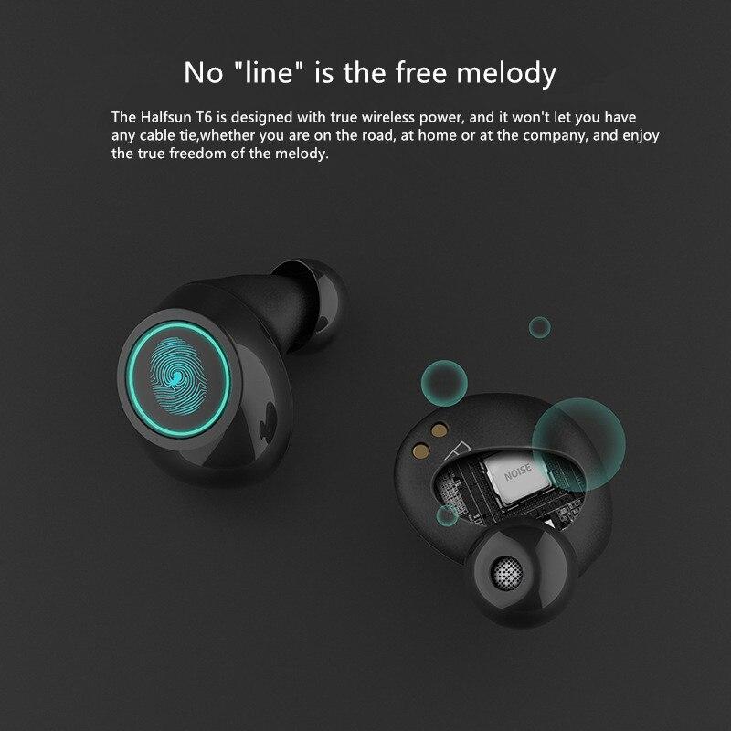 Intelligent Bluetooth 5.0 affaires Bluetooth écouteurs sans fil 3D Hifi stéréo écouteurs casque avec Microphone mains libres appels
