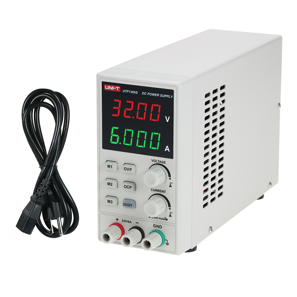 UNI-T Switching DC Power Supply 4 Digits Display LED 0-32V 0-6A High Precision Adjustable Mini Power Supply AC 220V 50Hz dc power supply uni trend utp3704 i ii iii lines 0 32v dc power supply