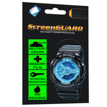 Military Grade Anti-Shock Film for Casio Watch G-Shock Analo