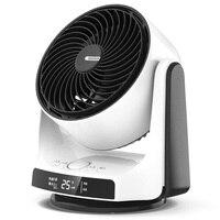 28W SEEDEN Condition Fan Intelligent Remote Control Home Desktop Shaking Head Fan LCD display temperature Low Noise Design