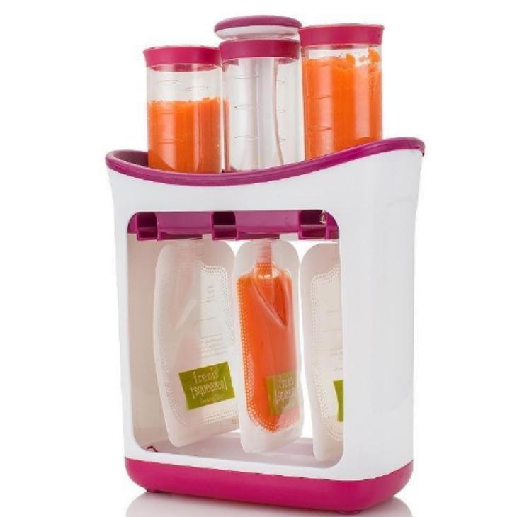 Containers Station Food-Maker-Set Fruit Squeeze-Juice Puree Baby DIY Packing-Machine