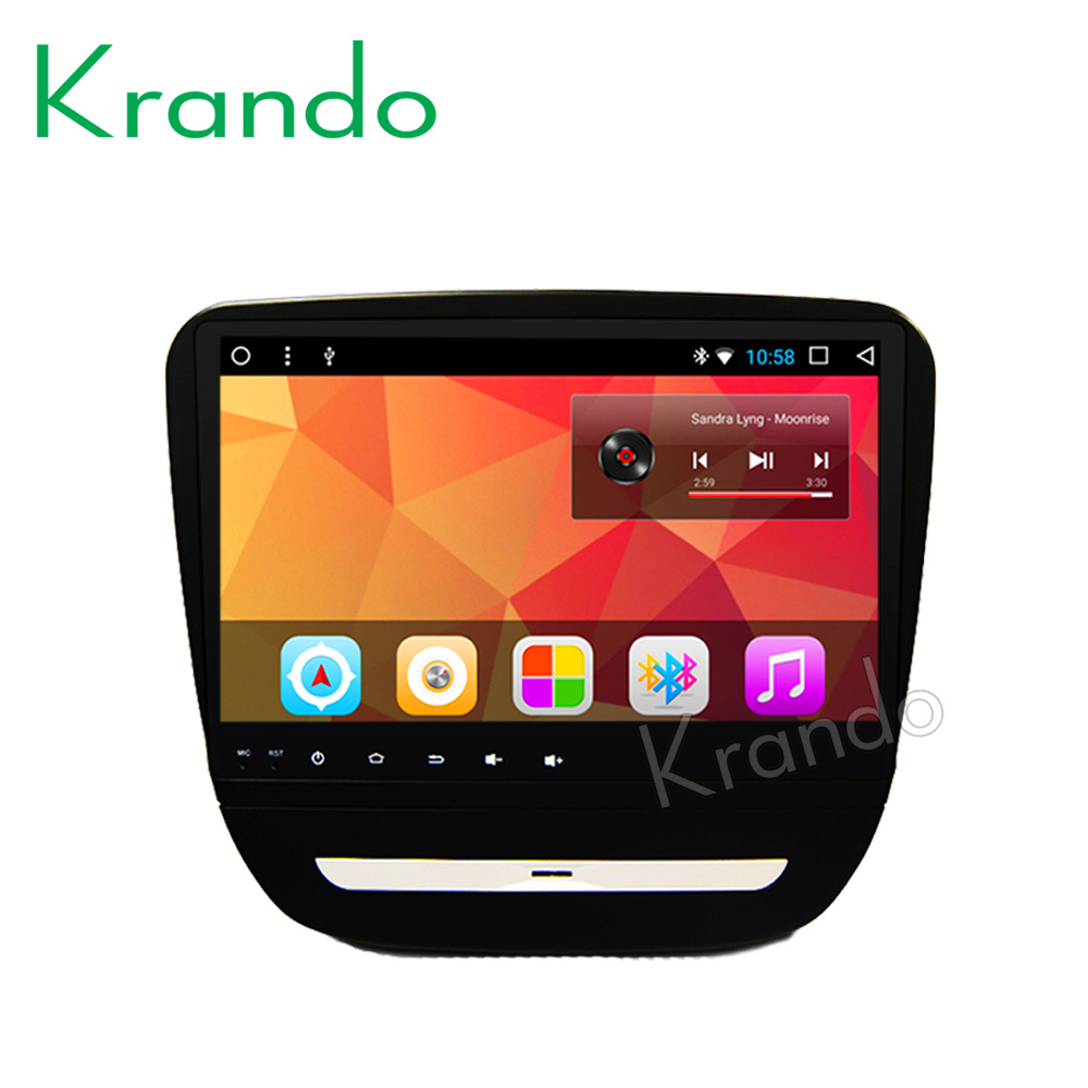 "Krando Android 8.1 9"" Full touch car Multmedia player for CHEVROLET MALIBU XL audio player gps navigation system radio wifi BT"