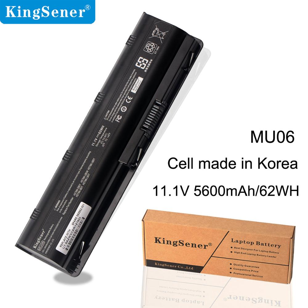 KingSener MU06 Batterie pour HP Pavilio G4 G6 G7 G42 CQ32 CQ42 CQ62 CQ72 DM4 HSTNN-CBOX HSTNN-Q60C HSTNN-CB0W MU06 MU09 DV6 DM4