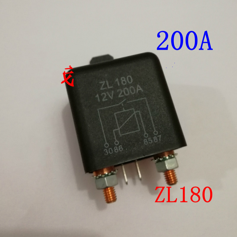 Automobile Relay 333a 189b High-power 12v Will Electric Current 24v Zl180 4 Foot Master Switch Start-up RelayAutomobile Relay 333a 189b High-power 12v Will Electric Current 24v Zl180 4 Foot Master Switch Start-up Relay