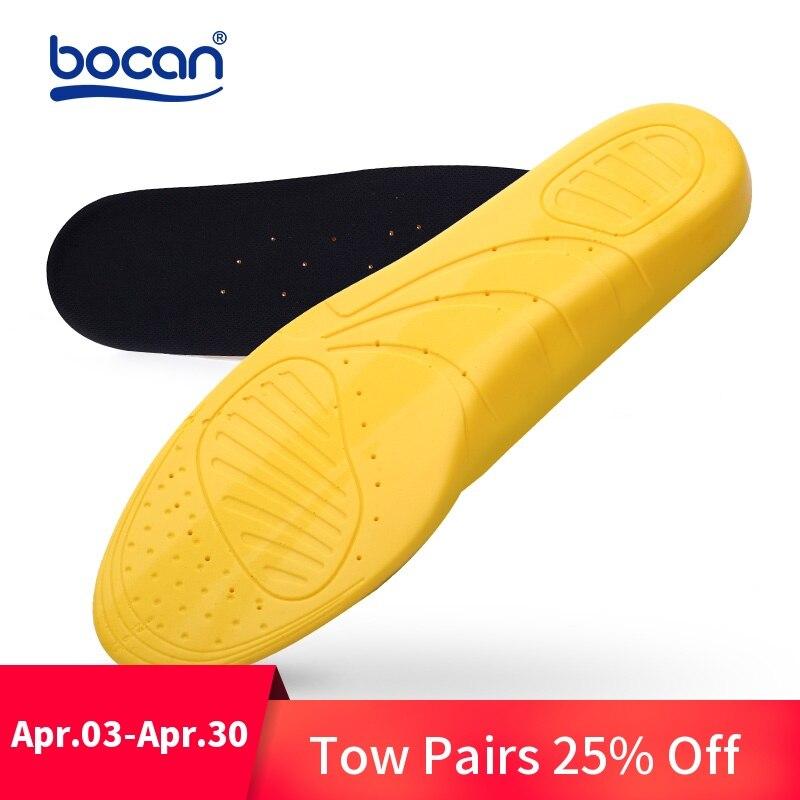 Plantillas para zapatos de calidad superior cojines de absorción de choque transpirable cómodo pie dolor aliviar de plantillas de zapatos para hombres y mujeres
