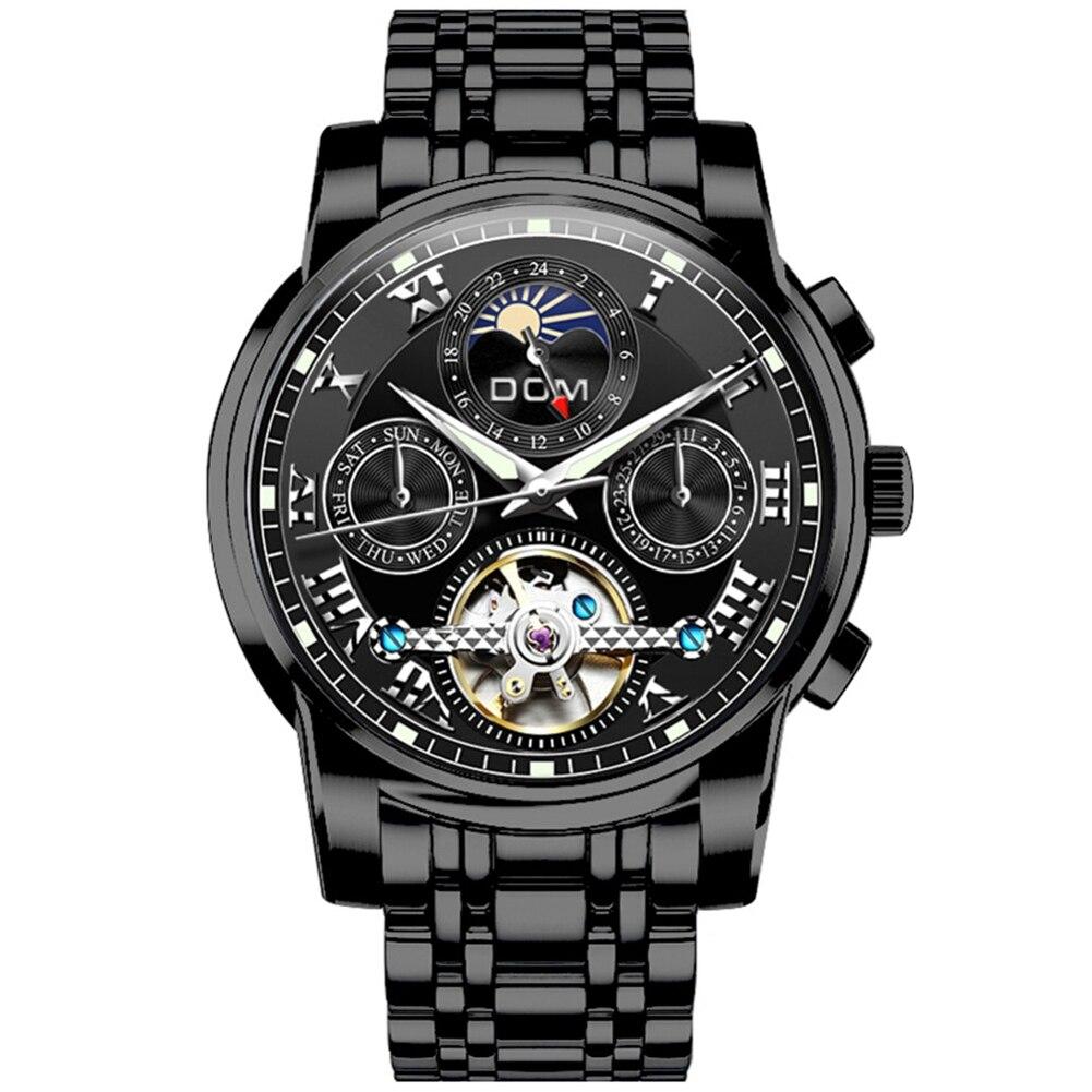 Dom ผู้ชายกลนาฬิกาเข็มขัดกลวงอัตโนมัติกันน้ำกีฬานาฬิกา-ใน นาฬิกาข้อมือกลไก จาก นาฬิกาข้อมือ บน AliExpress - 11.11_สิบเอ็ด สิบเอ็ดวันคนโสด 1