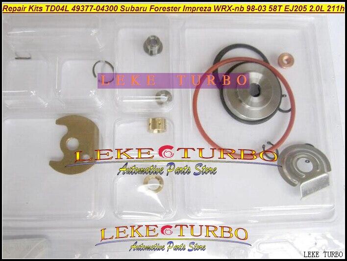 Турбокомпрессор TD04L 49377 04300 14412 AA360 AA140 Турбокомпрессор Для SUBARU Forester Impreza WRX NB 1998 03 58T EJ205 2.0L