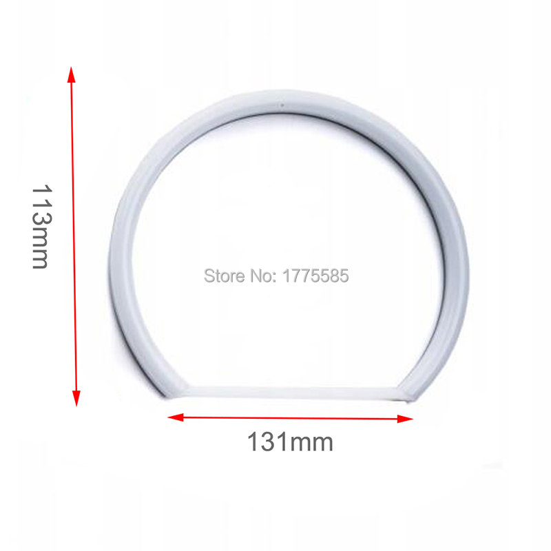 1 SET (4 * 131mm) xenon White Cotton light SMD LED Angel ögon för - Bilbelysning - Foto 6