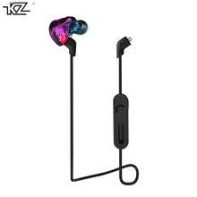 KZ Знч Гибридный наушники Bluetooth + проводной 2 Кабели арматура + Dynamic Drive Hi-Fi бас наушники для спорта музыки smart телефоны