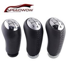 Скорость WOW 5 скорость ручка переключения рулевого механизма автомобиля головка палка матовый блесек для губ шестерни переключения для RENAULT Лагуна Megane 2 Clio 3 Scenic 2