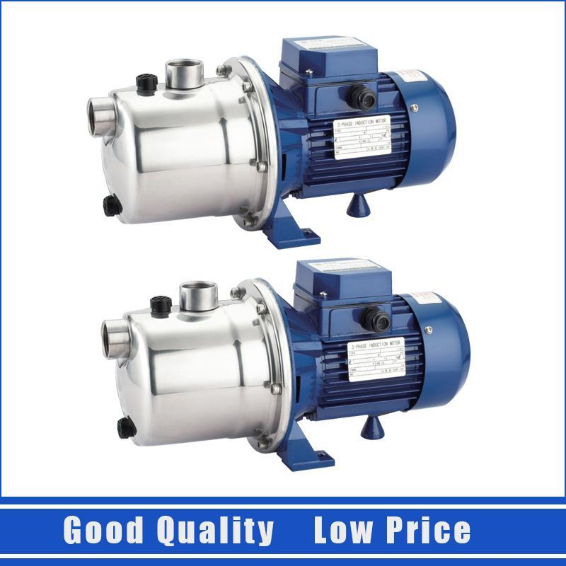 0.37KW Stainless Steel Jet Pump Domestic Clean Water Pump Centrifugal Booster Prcessure Pump 220V/50HZ0.37KW Stainless Steel Jet Pump Domestic Clean Water Pump Centrifugal Booster Prcessure Pump 220V/50HZ
