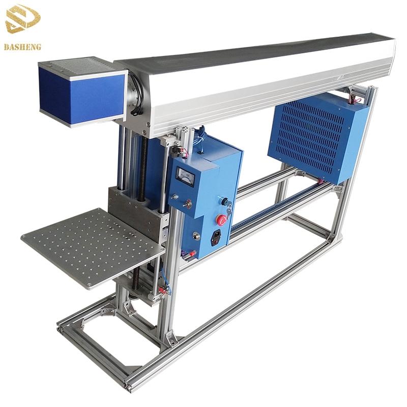 Best price Fiber/UV/co2 flying laser marking machine from Raymond