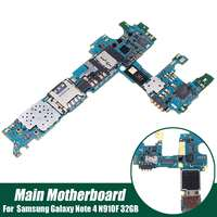 LEORY Main Motherboard Flex Cable Mic Dock Board Replacement For Samsung for Galaxy Note 4 N910F 32GB