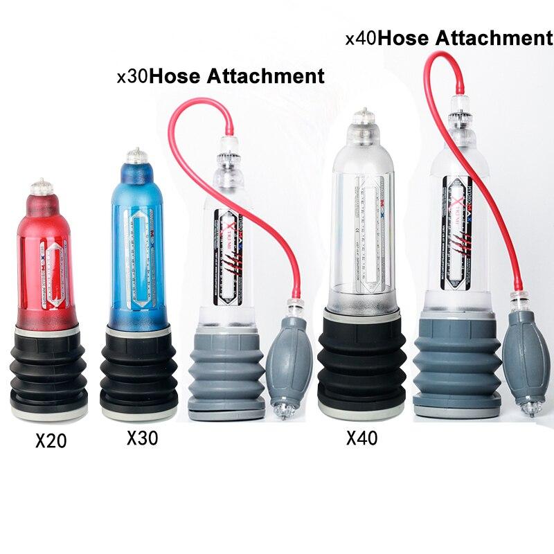 Hydrothérapie X20 X30 X40 Xtreme Pénis Pompe Pénis Élargissement Enhancer D'eau Spa Pénis Extender Proextender Sex Toys Pour Hommes