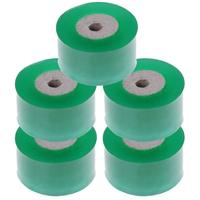 Promoção! Fita de enxerto do berçário de 5 pces stretchable  fita autoadesiva do enxerto do berçário  verde cada 100m x 3cm  39.37x1.2 polegadas