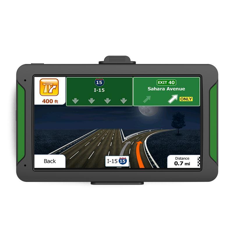 US $38.2 17% OFF|7 Inch HD Car GPS Navigation FM Bluetooth Europe Map on