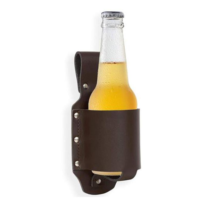 New Beer Belt Holster Drink Soda Can Bottle Pouch Canvas Holster Black Camouflage For Party Outdoor Holidays Camping Drinks J2 Climbing Bags Camping & Hiking